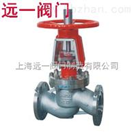 YJ41W-16P/25P/40P不锈钢氧气专用截止閥