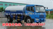 解放单桥5立方洒水车、工地水罐车价格、杭州消防洒水车厂家