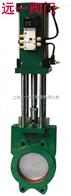 Z673X-6/10/16氣動對夾式鑄鐵漿液閥