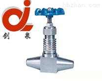 J61W高温高压对焊截止阀