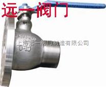 不锈钢焊接放料球阀