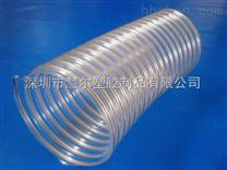 透明钢丝伸缩管,pu钢丝波纹软管