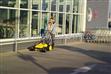 西安無動力手推式掃地機KM 70/20 C,室內手推式掃地機