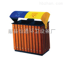 河北铁木垃圾桶生产厂家