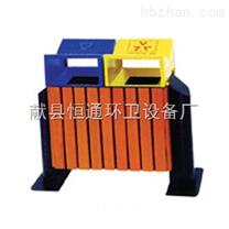 河北邯郸铁木垃圾箱