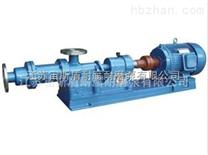 I-1B型螺杆泵(浓浆泵 单螺杆式输送泵 耐腐耐磨泵