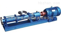 G型螺杆泵适应性强、流量平稳、压力脉动小、自吸能申冈