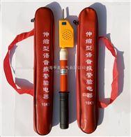 110kv棒状伸缩声光自检高压验电器