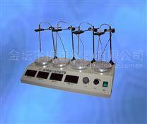 數顯控溫四聯磁力攪拌器