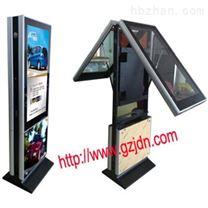 55寸落地式双屏高清广告机-前后屏
