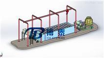 東山島水產加工日產量25噸大型塊冰機