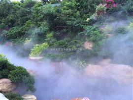 户外水景造雾