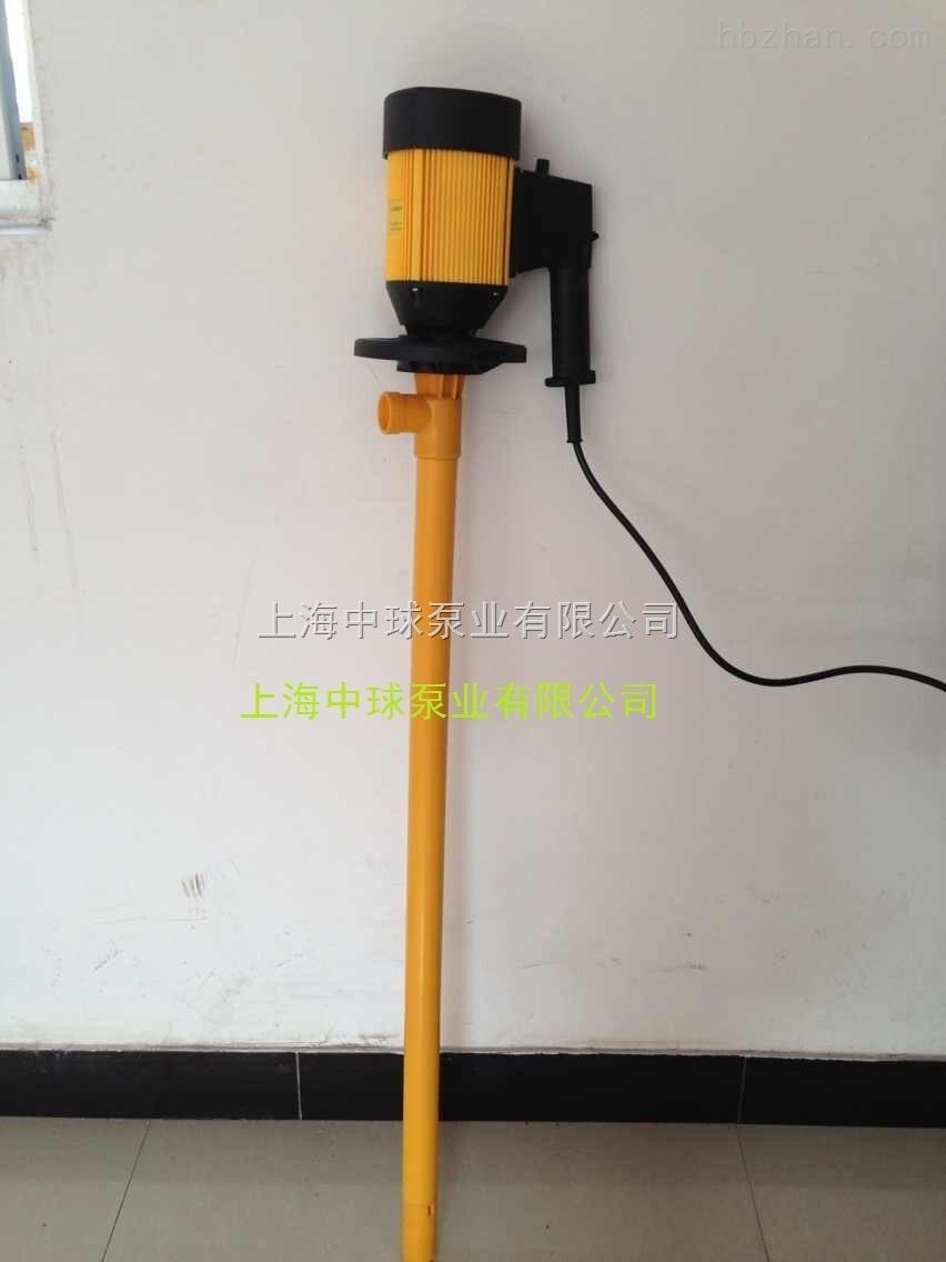 HD-E2-V+PVDF-HP氟塑料调速型电动插桶泵