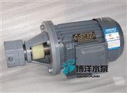 工博牌BBG型内啮合摆线齿轮泵,耐腐蚀齿轮油泵