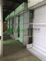 南京伊希欧PLC自动控制卷帘式过滤器新风过滤墙