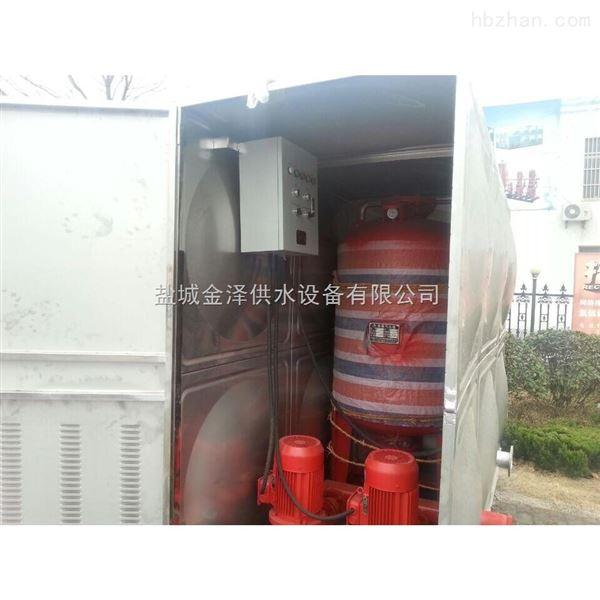 成都南充消防箱泵一体化稳压给水设备