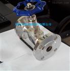 不锈钢法兰针型阀J43W