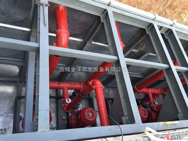 河北石家庄300吨地埋增压箱泵设备