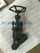 自密封Y型截止閥J65H-1500LB專業供應
