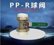 PP-R双活接球阀