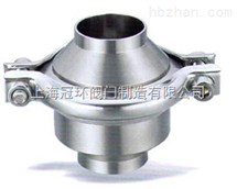 H61F卫生级对焊止回阀