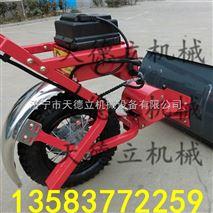 輪胎式鏟雪車積雪清理推車清雪機牛糞清理車