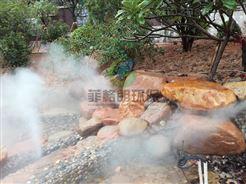 南通公园/假山/喷泉人工造雾技术专家/大型景区景观造雾工程案例
