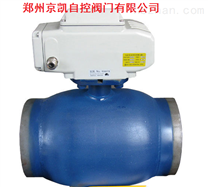 Q961F電動全焊接球閥