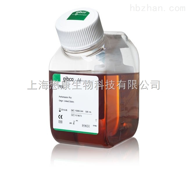 Gibco Fetal Bovine Serum, certified, US origin 胎牛血