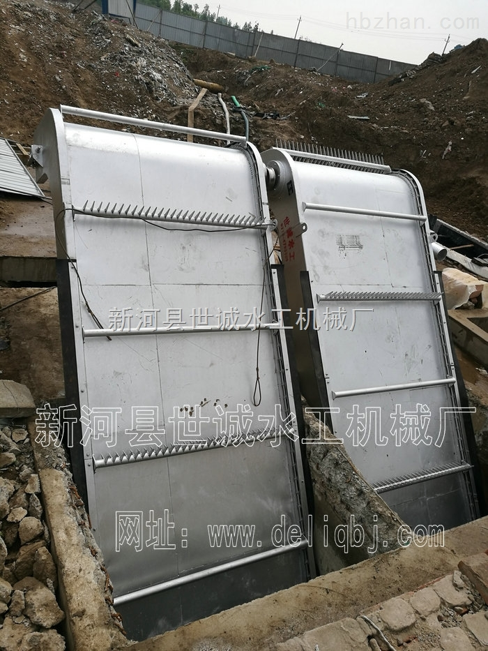 2*20-不锈钢回转式格栅清污机河北世诚