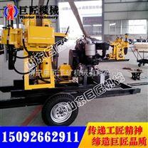 XYX-200轮式水井钻机 拖车式200米全液压打井机远销国外