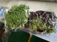 蔬菜保鲜套袋机蔬菜自动套袋打包机
