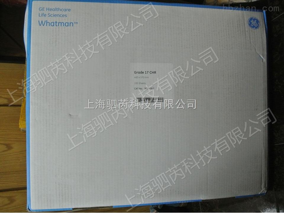 GE Whatman 纤维素层析纸 Grade 17 Chr