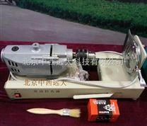 中西现货电动橡胶塞钻孔机库号:M236810