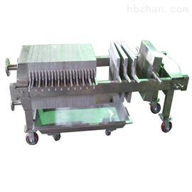 山東東營地區手動保壓型板框式壓濾機出廠價