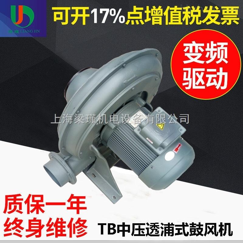 TB150-10透浦式风机|7.5KW汽车清洗设备用鼓风机