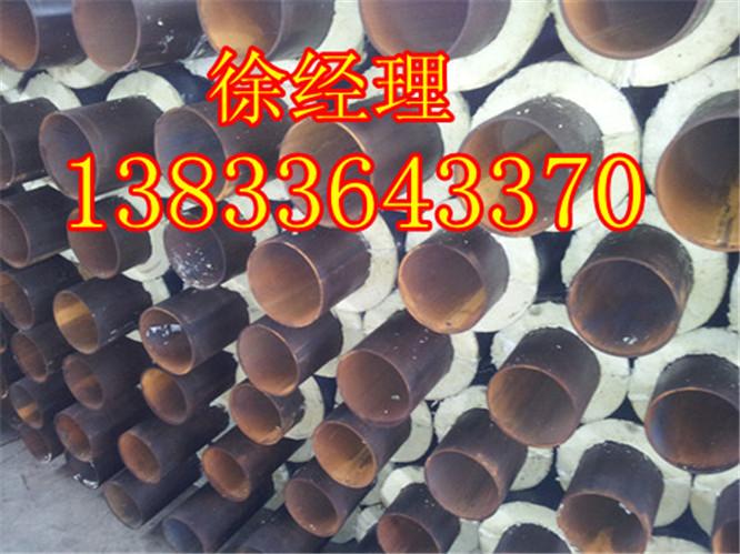 聚氨酯发泡直埋热水保温管规格,钢套钢直埋发泡保温管价格