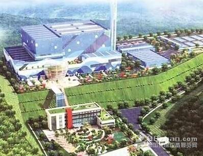 株洲生活垃圾焚烧发电工程多项基础设施已完工图片