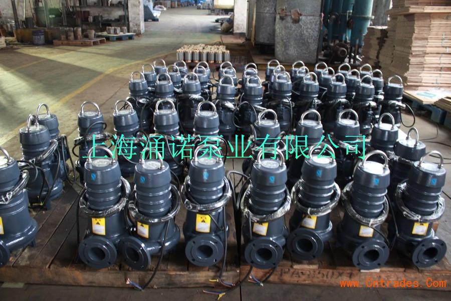5潜水排污泵  ⑥wq潜水泵浮球开关可以根据所需液变化,自动控制泵的起