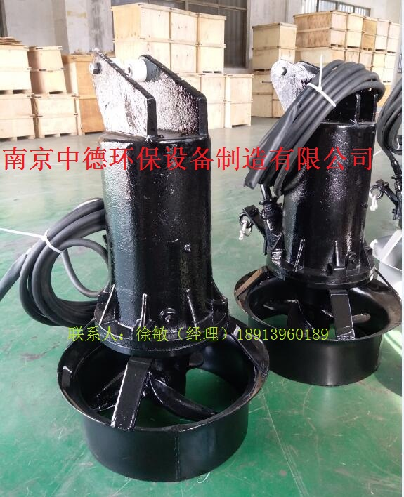 qjb4/6-400/3-980潜水搅拌机选型及安装规范