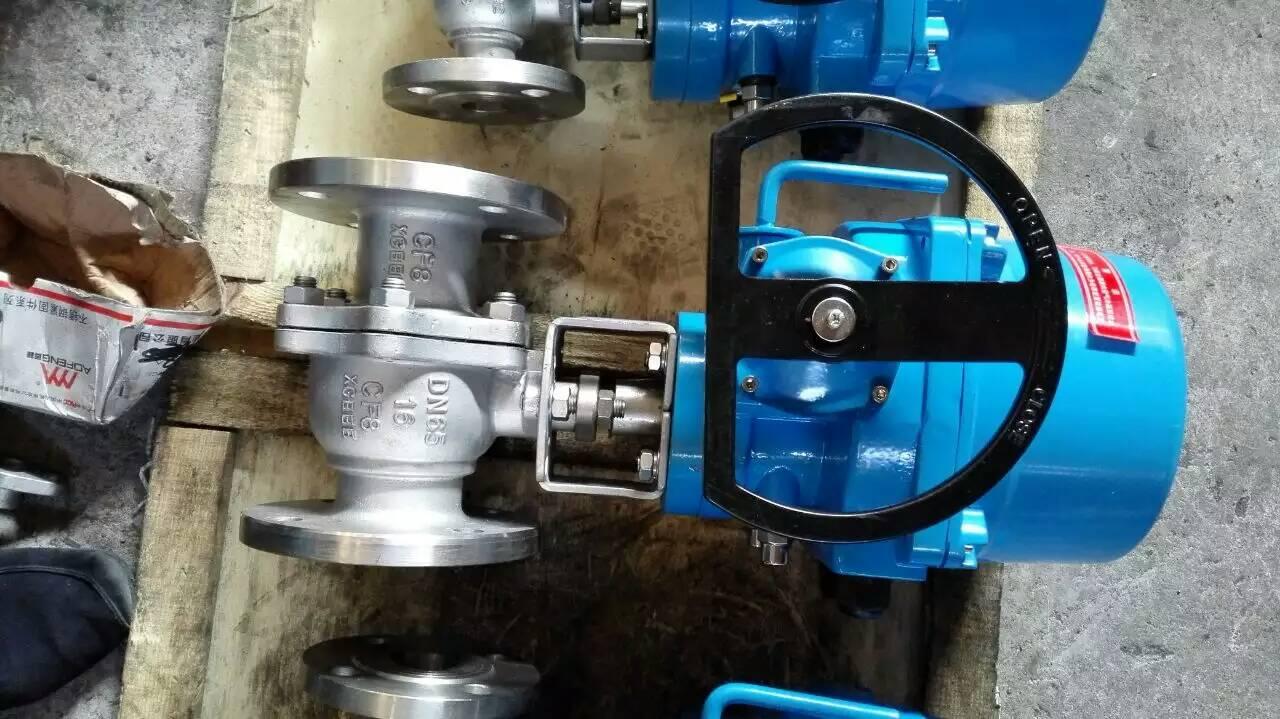 mq947h电动喷煤粉卸灰球阀主要技术参数
