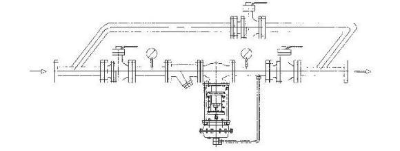 单双回路自力式减压阀组调试