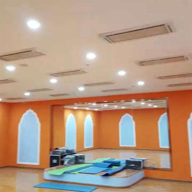 胶州瑜伽馆,泰州悠然瑜伽等健身会所高温瑜伽教室均采用这种吊顶式图片